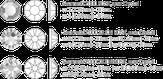 Swarovski Набор страз для маникюра №04 Crystal 324 шт.