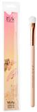 Irisk Кисть макияжная для нанесения теней широкая, натуральный ворс Molly