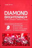 Some By Mi Diamond Brightening Glow Luminous  Ampoule Mask Ампульная тканевая маска для лицас алмазной пудрой