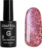 Grattol Гель-лак светоотражающий Bright - Cristal 04