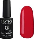 Grattol Гель-лак №082 Cherry Red