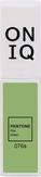 ONIQ Гель-лак для ногтей PANTONE 076, цвет Nile green OGP-076