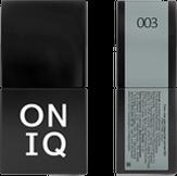ONIQ Гель-лак для ногтей PANTONE 003, цвет Abyss OGP-003