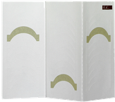 El Corazon Трафареты для французского маникюра и дизайна №1 120 шт.