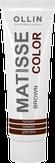 Ollin MATISSE Color Пигмент прямого действия Коричневый 100 мл.