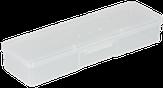 Modelon Бокс пластиковый для кистей и инструментов 18,5х5,5х3 см.