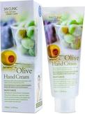 3W Clinic Moistrurizing Olive Hand Cream Крем для рук увлажняющий с экстратом оливы 100 мл