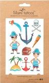 """Miami Tattoos Акварельные переводные тату """"Pirate"""""""