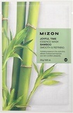 Mizon Joyful Time Essence Mask Bamboo Тканевая маска для лица с экстрактом бамбука 25 мл