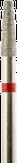 Владмива Фреза алмазная конус, D2.3 мм. красная, мягкая зернистость 806.172.514.023