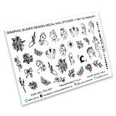 BPW Style Слайдер-дизайн Портреты и цветы в графике