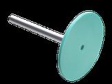 Сталекс Диск педикюрный пластиковый PODODISC STALEKS PRO М в комплекте с сменным файлом 180 грит 5 шт (20 мм)