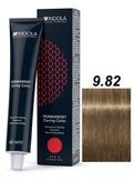 Indola Red&Fashion 9.82 Крем-краска Блондин шоколадный перламутровый 60мл