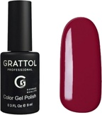 Grattol Гель-лак №020 Red Ruby