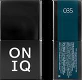 ONIQ Гель-лак для ногтей PANTONE 035, цвет Midnight navy OGP-035