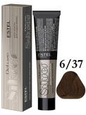 Estel Professional De Luxe Silver Стойкая крем-краска для седых волос 6/37, 60 мл.