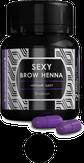 Sexy Brow Henna Хна для бровей 30 капсул, цвет черный