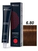 Indola Red&Fashion 6.80 Крем-краска Темный русый шоколадный натуральный 60мл
