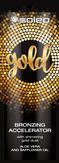 Soleo Gold Крем для солярия с бронзатором с частицами золота 15 мл
