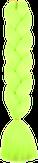 HIVISION Канекалон для афрокосичек желтый неон А22