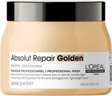 Loreal Absolut Repair Gold Маска с золотой текстурой для восстановления поврежденных волос 500 мл.