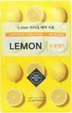 Etude House Therapy Air Mask Lemon Тканевая маска с экстрактом лимона