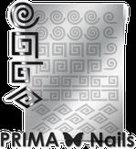 Prima Nails Металлизированные наклейки GM-01, Серебро
