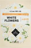 Etude House Therapy Air Mask White Flowers Тканевая маска с белыми цветами