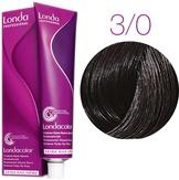 Londa Color Стойкая крем-краска 3/0 темный шатен 60 мл.