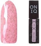ONIQ Гель-лак для ногтей плотный MIX: Rose Quartz Flakes OGP-098s
