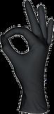 MediOk Перчатки нитриловые неопудренные, Цвет черный, Размер XS, 50 пар