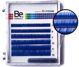 BePerfect Цветные ресницы Rainbow Blue MIX 6 Линий (D/0,10/7-12)