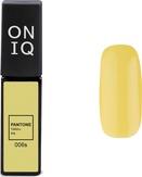 ONIQ Гель-лак для ногтей PANTONE 006s, цвет Yellow iris OGP-006s