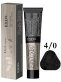 Estel Professional De Luxe Silver Стойкая крем-краска для седых волос 4/0, 60 мл.