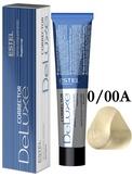 Estel Professional De Luxe Крем-краска корректор для осветления волос аммиачный 0/00A, 60 мл.