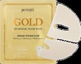 Petitfee Gold Hydrogel Mask Pack Золотая гидрогелевая маска для лица