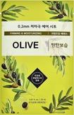 Etude House Therapy Air Mask Olive Тканевая маска с маслом оливы