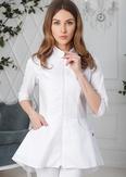 Лечи Красиво! Блуза женская 120 (сатори), размер 48, цвет белый-2