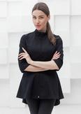 Лечи Красиво! Блуза женская 120 (сатори), размер 48, цвет черный-2