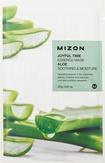 Mizon Joyful Time Essence Mask Aloe Тканевая маска для лица с экстрактом сока алоэ 25 мл