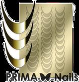 Prima Nails Металлизированные наклейки CL-002, Золото