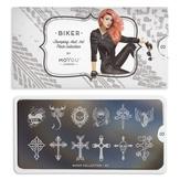 MoYou London Пластина для стемпинга Biker 03