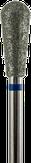 Владмива Фреза алмазная, обратный конус, D5,0 мм. синяя, средняя зернистость 806.239.524.050