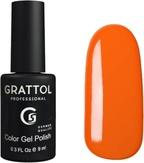 Grattol Гель-лак №029 Orange Red