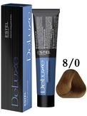 Estel Professional De Luxe Стойкая крем-краска 8/0, 60 мл.