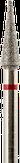 Владмива Фреза алмазная конус, D3,1 мм. красная, мягкая зернистость 806.166.514.031