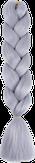 HIVISION Канекалон для афрокосичек серый