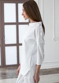 Лечи Красиво! Блуза женская 137 (поливискоза), размер 44, цвет белый-2