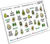 BPW Style Наклейки для ногтей Авокадо
