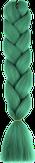 HIVISION Канекалон для афрокосичек ярко-зеленый А24